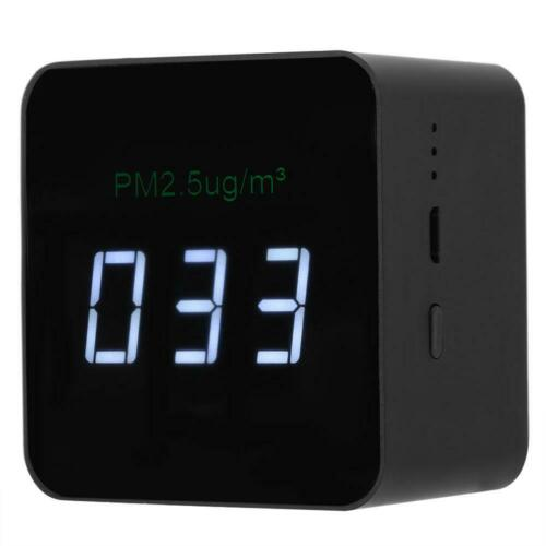 USB PM2.5 Detector Rechargeable Air Quality Tester Monitor with LED Display