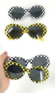 c8d2554144 Image is loading UVLAIK-NIRVANA-Kurt-Cobain-Clout-Goggles-Round-Sunglasses-