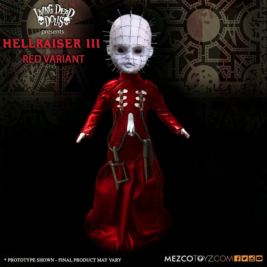 Living Dead Dolls - Hellraiser III: Hell on Earth Pinhead Exclusive 20cm(8