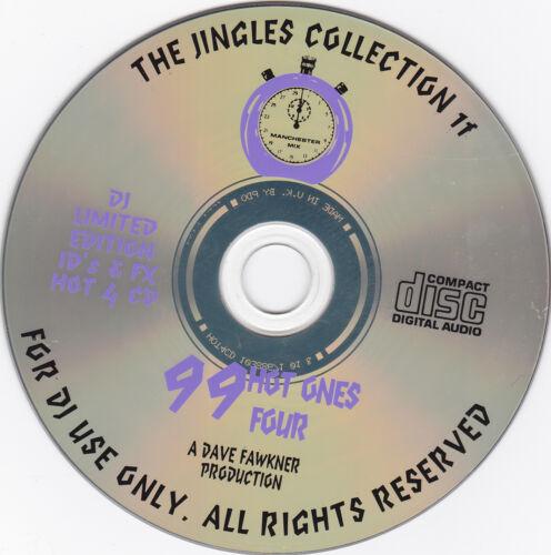 Manchester Mix 99 HOT ONES 4 CLASSIC RETRO DJ RADIO JINGLES DROPS-VOs-FX /& ID/'S