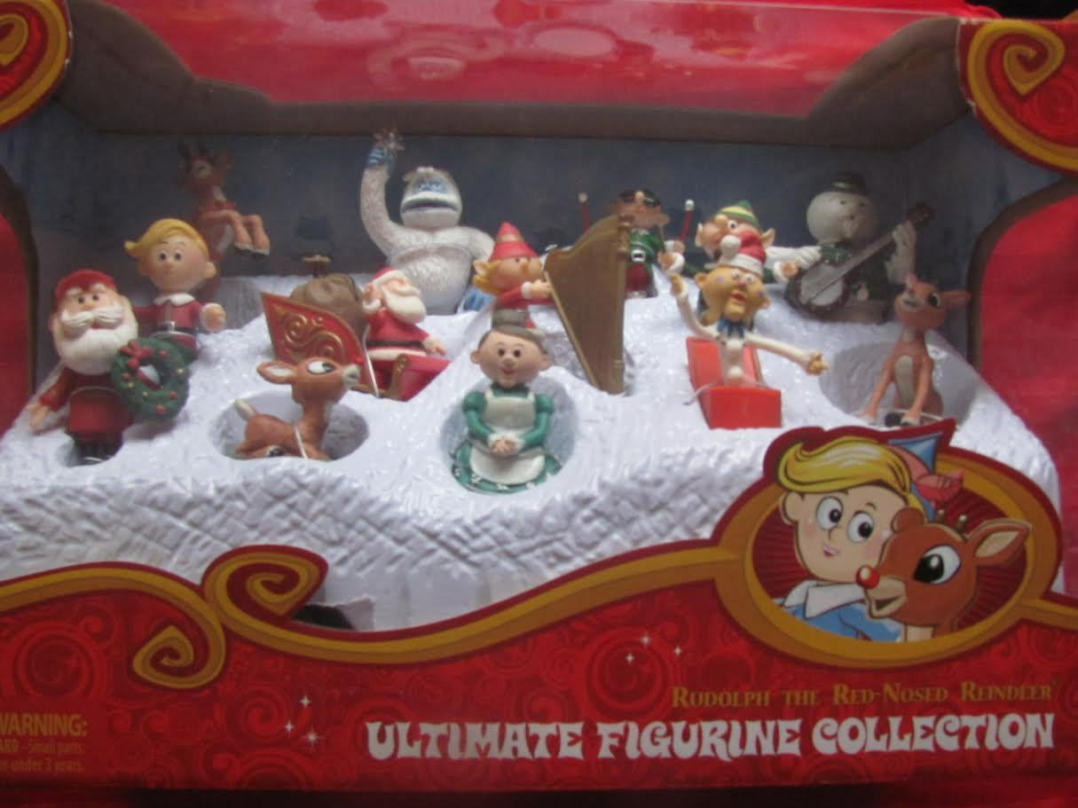 ULTIMATE FIGURINE COLLECTION 2013 figure set rudolph misfit toys NEW
