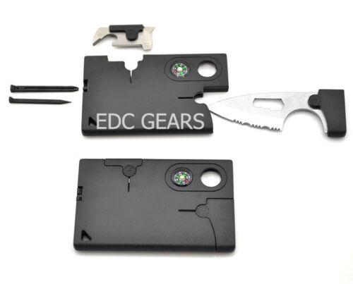 EDC High Quality 10 in 1 Pocket Credit Card Tool Survival Outdoor Multi Purpose