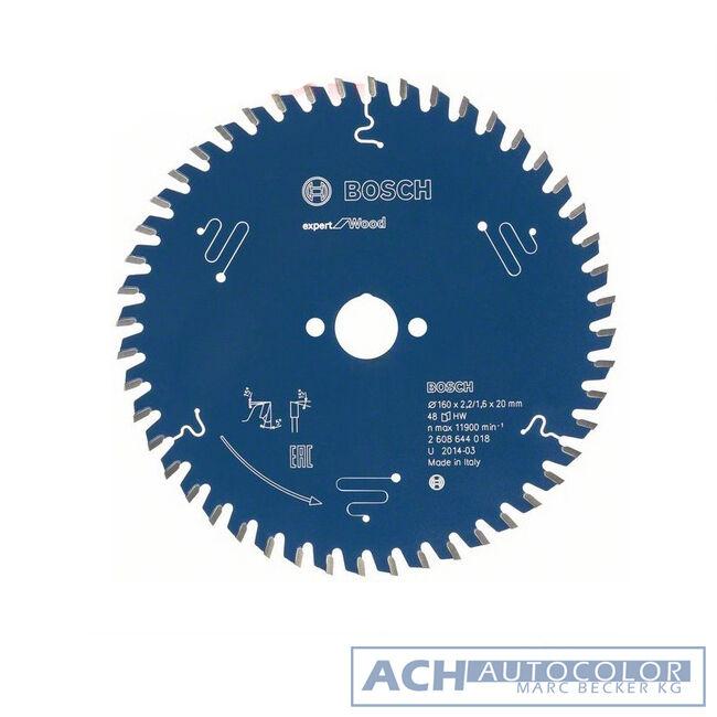 Bosch Kreissägeblatt 216x30x2,4 1,8 48T WZ Expert for Wood 2608642497