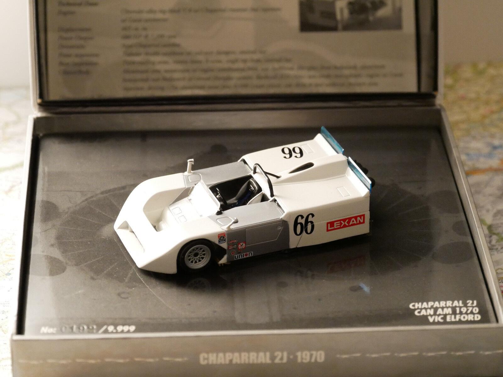 Minichamps CHAPARRAL 2J CAN AM 1970 VIC ELFORD 1 43 NEW