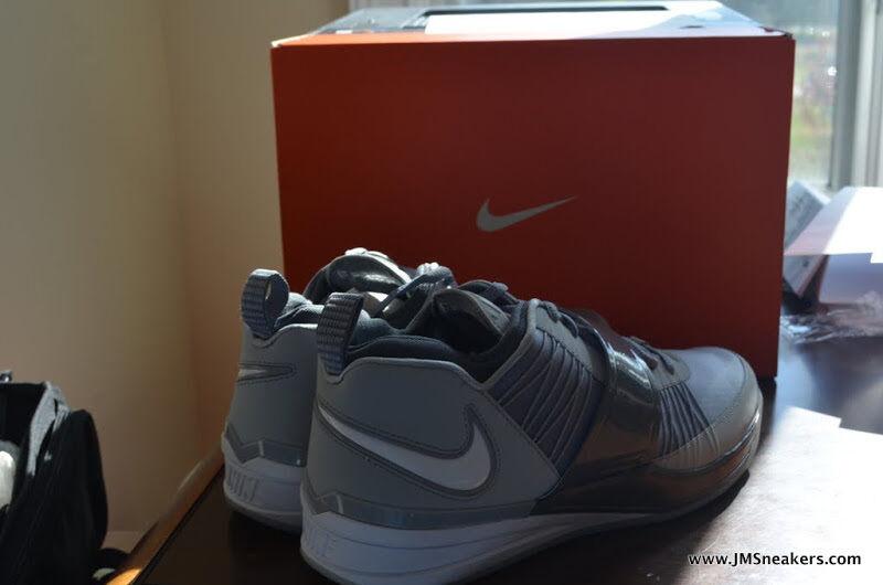 Nike Zoom Revis grigio nfl VIII jets 3 iii iii iii 4 iv 11 XI yots 2 year viola island 1230c3