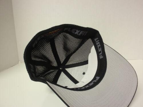 20 TRUCKER MESH FLEXFIT CAP PLAIN BLANK BASEBALL HAT FLEX FIT CURVED FITTED 6511