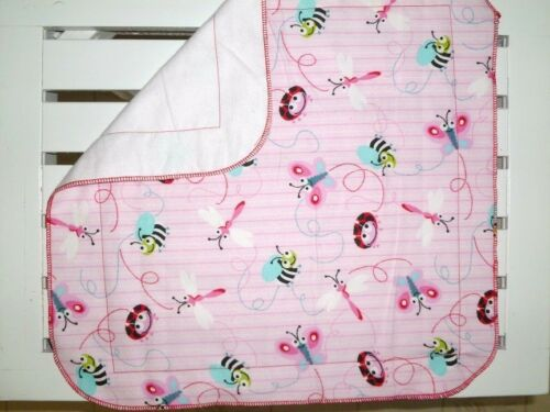 Great for Baby Shower Gift NEW Handmade Baby Girl Security Blanket