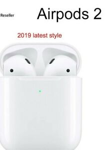 Apple-AirPods-Ecouteurs-2st-generation-WIRELESS-BLUETOOTH-MMEF2J-A-FR-neuf