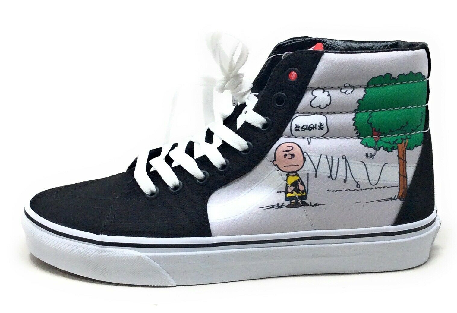 Купить Vans Mens SK8-Hi Peanuts Charlie