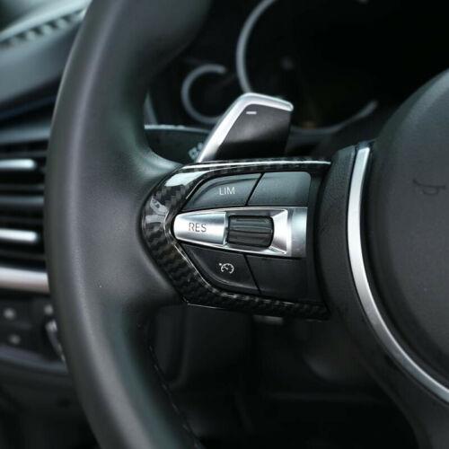 Car Steering Wheel Strip Frame Trim For BMW F10 F20 F13 F15 F16 X5 X6 M sport