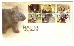 2015-FDC-Australia-Native-Animals-034-Wombat-034-PictFDI-034-GREENBUSHES-034