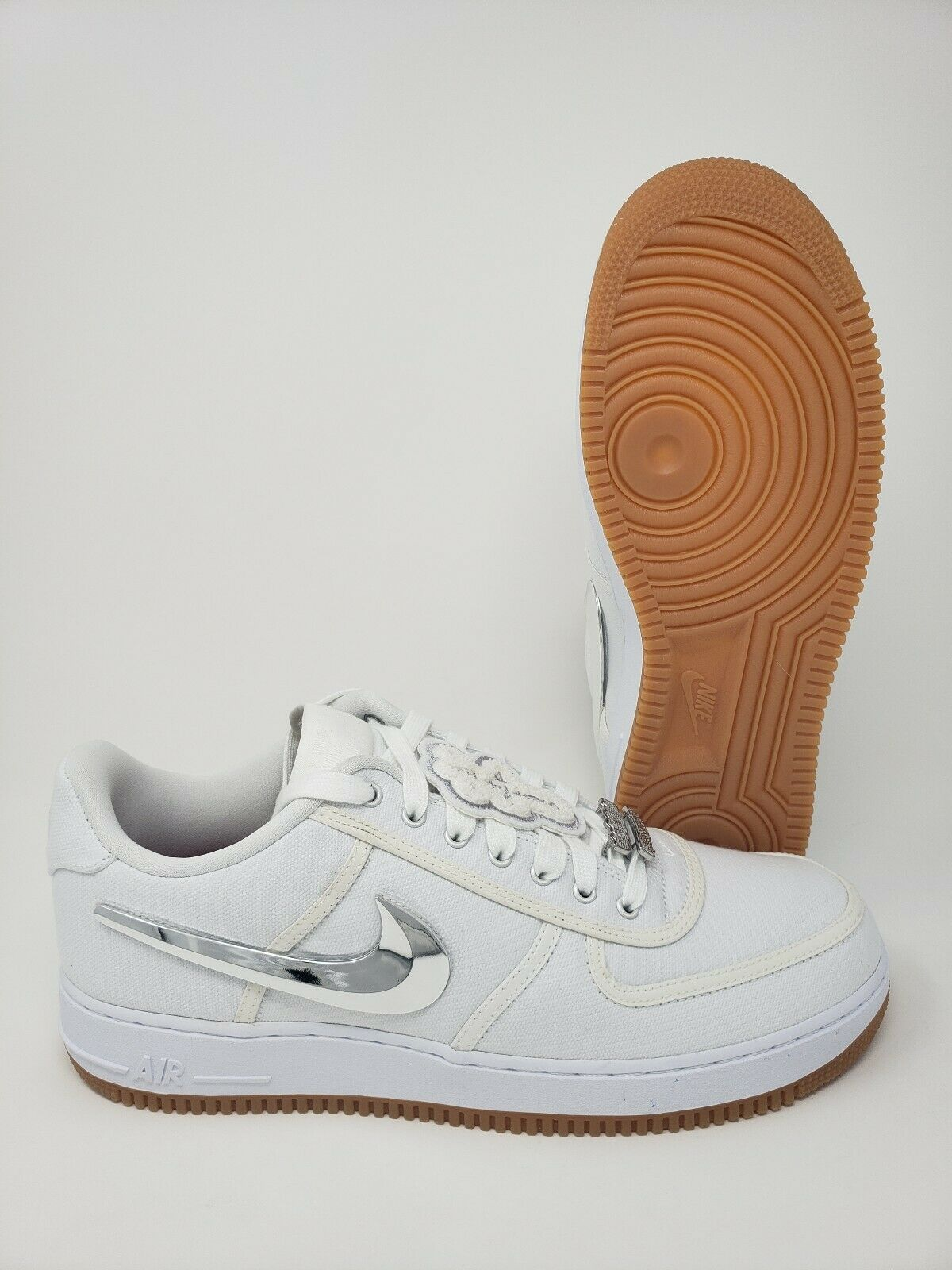 Travis Scott x Air Force 1 OG DS Mens Size 13 With Special Box And Extra Nike...
