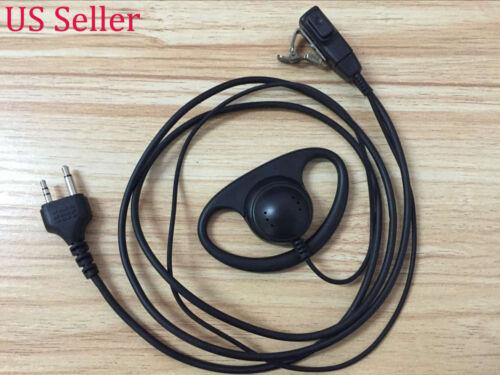 D Earpiece//Headset Mic Midland G5 G6 G7 G8 G9 G10 G12 M24 M48 M99 445 Sport USA