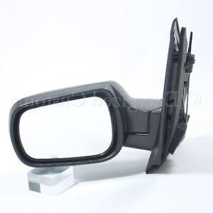 Ford Fiesta MK6 2002-2005 Manual Black Wing Door Mirror Passenger Side Left 5083751947218
