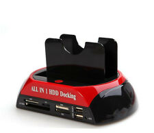 "All-in-1 HDD Docking Station with One Touch Backup for 2.5/3.5"" IDE/SATA HDD"