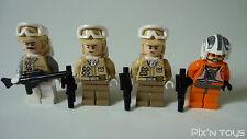 LEGO STAR WARS / Minifigures Set ( 8083-1: Rebel Trooper Battle Pack )
