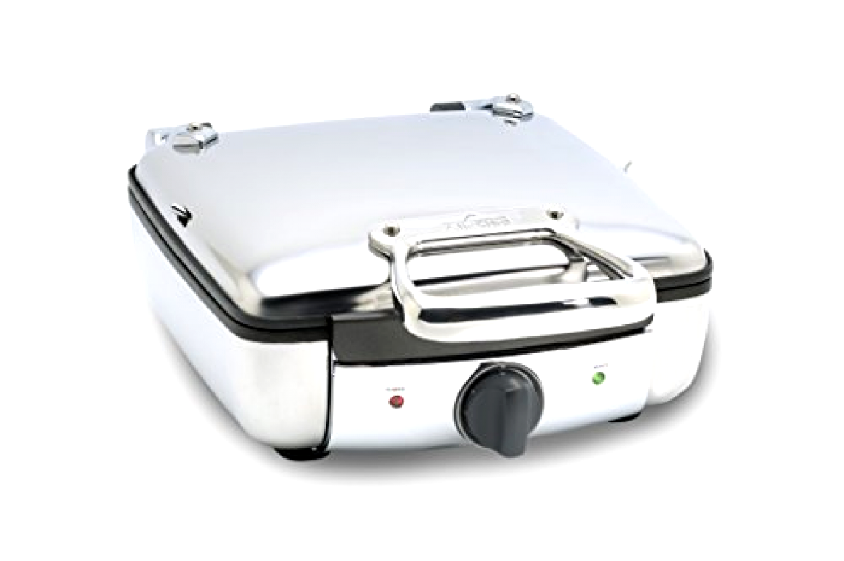All-Clad 99010GT Stainless Steel Belgian Waffle Maker with 7 marroning Settings,