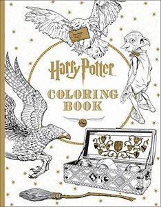 Harry Potter Coloring Book Patterns Anti Stress Therapy