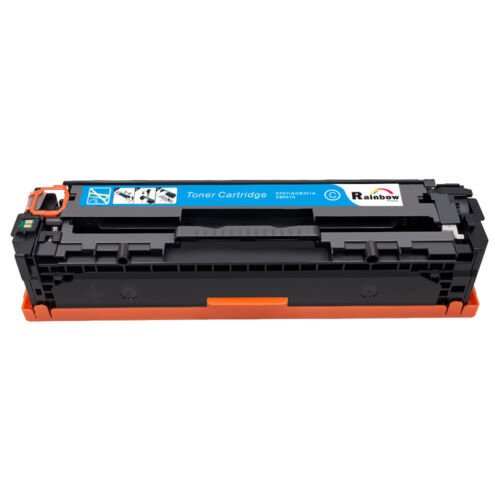 4 Pack CE320A-CE323A 128A Toner Cartridge For HP LaserJet Pro CP1525NW CM1415FNW