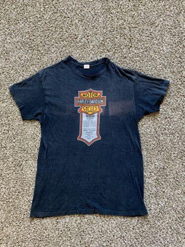 vintage 70's harley davidson t shirt