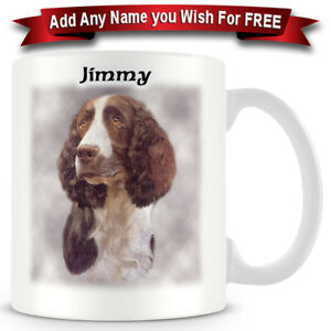 Springer-Spaniel-Dog-Ceramic-Coffee-Mug-Personalise-for-free