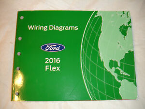 2016 Ford Flex SUV Factory Wiring Diagrams Electrical ...