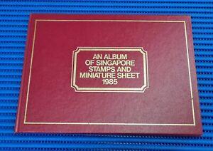 1985 An Album of Singapore Stamps & Miniature Sheet 1985
