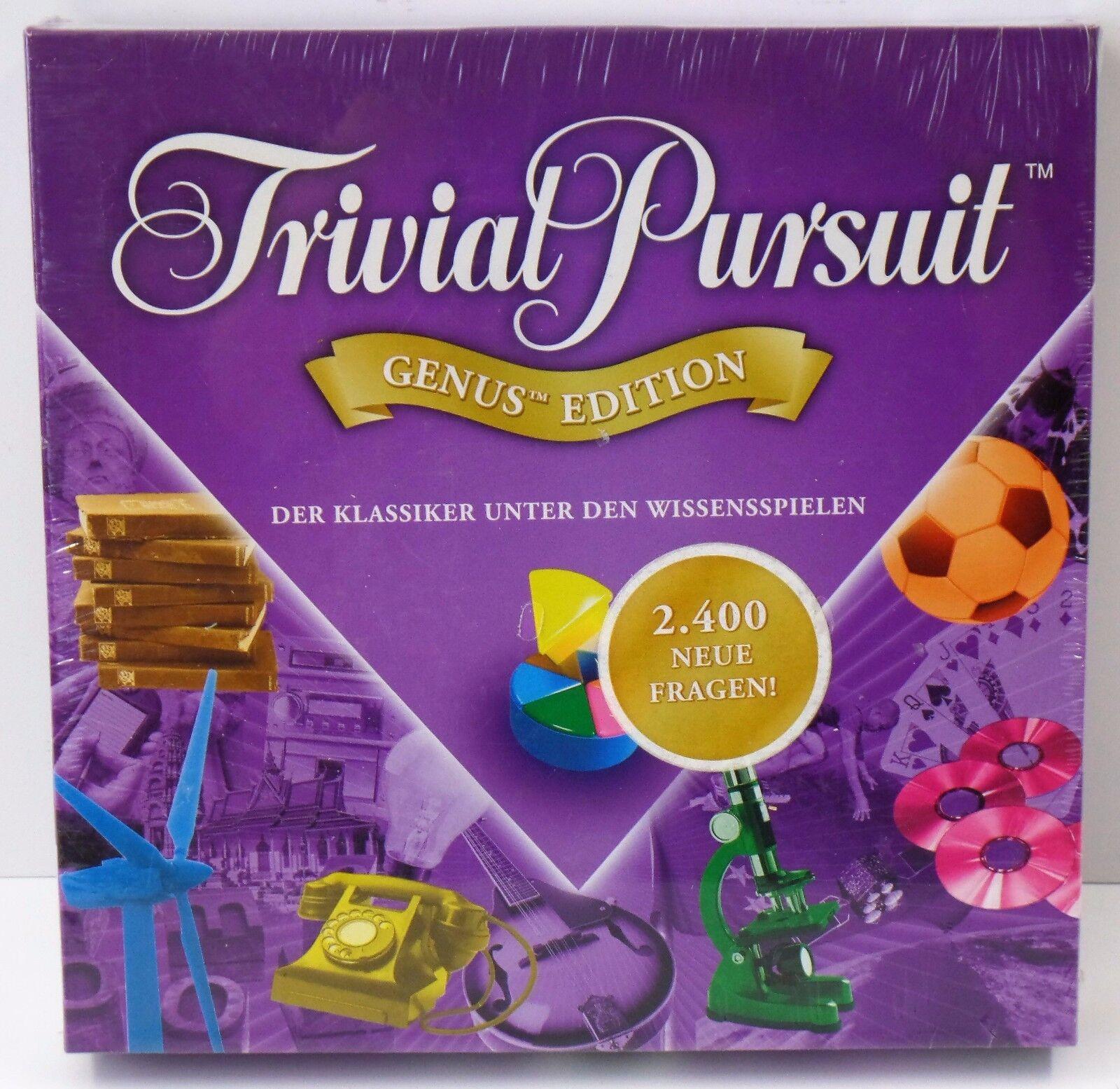 Carnaval Noël, et et Noël, je suis charFemmet! PARKER TRIVIAL PURSUIT Genus Edition - 2400 nouvelles questions-Neuf New 275448