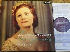 SET 320-2 Bellini Beatrice di Tenda / Sutherland / Bonynge etc. 3 LP box