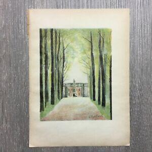 Leon-Spilliaert-1931-Illustratie-uit-Au-temps-que-Nanette-etait-perdue