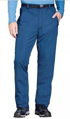 2019 Ultimo Disegno 214# Waterproof Fleece Lined Trouser With Stretch Waistband With Free Belt Superiore (In) Qualità