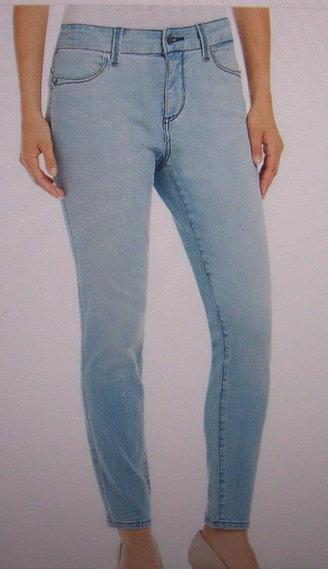 NYDJ Not Your Daughters Jeans pants Clarissa Water Reflection skinny ankle 2 o 6