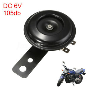Waterproof-Motorcycle-Electric-Round-Horn-DC-6V-105db-Vehicle-Car-Loud-Tone