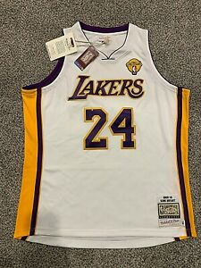 Details about Authentic Kobe Bryant Lakers Mitchell & Ness 2009-10 NBA FINALS Jersey S-4XL