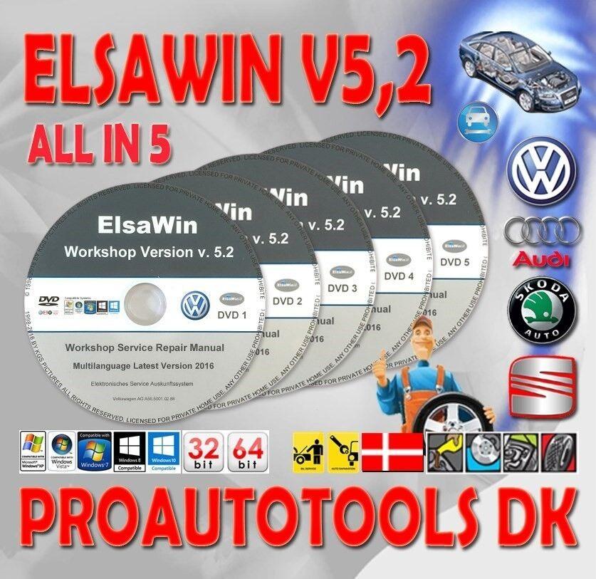 VW, Reparation Manual Elsawin 5.20 Service