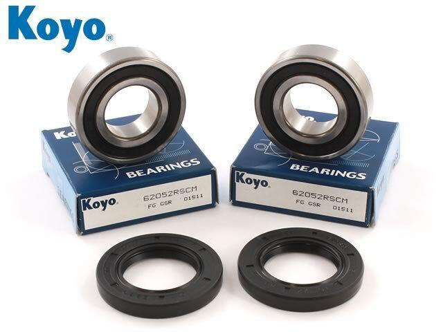 Genuine Koyo Triumph Daytona 675 Front Wheel Bearing /& Seals 2006-2014