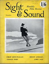 SS50-19-7 SIGHT AND SOUND 1950 Sunset Boulevard CHARLES DICKENS UK MAGAZINE
