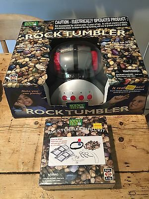 Science Tech Rock Tumbler & Refill Kit Both Brand New & Sealed Unwanted Present!