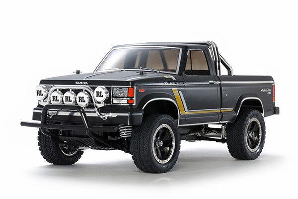 47361 Tamiya 1/10 RC camión CC01 Chasis Kit Land Freeder Negro Prepintado Con Esc