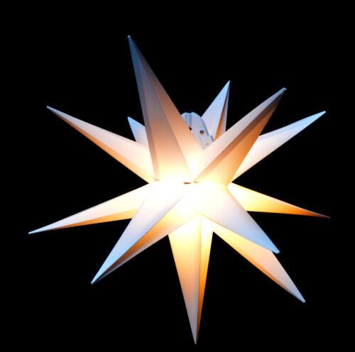 Weihnachtsstern Weihnachten Deko Lichter Adventsstern Außenstern Stern 40cm Poco