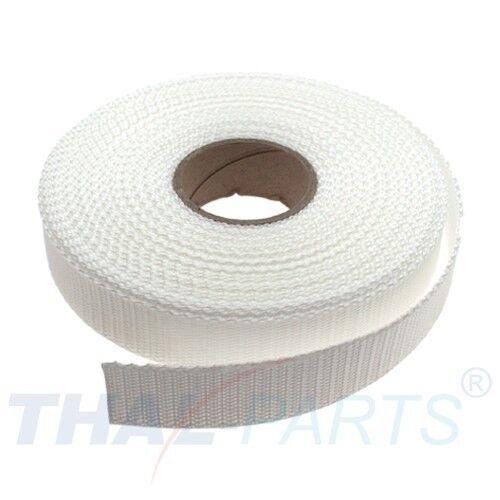 ca Rohweiss  PP Taschengurt Taschenband 1,6mm stark 10m Gurtband 25mm Breit