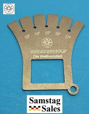 OX-HEAD Ochsenkopf Germany Competition Axe Angle Gauge for Sharp Edge OX448-0000