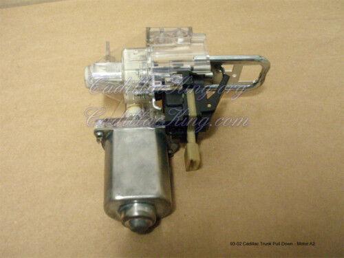 1993 93 1994 1995 1996 CADILLAC SEVILLE TRUNK PULL DOWN MOTOR REBUILT G119