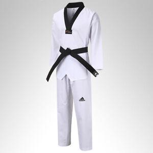 NEW adidas Karate Black Belt Martial Arts CHAMPION Taekwondo Judo COTTON Belt