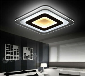 Led Square Shape Acrylic Ceiling Lighting Living Room