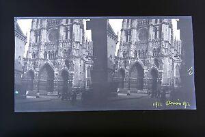 Amiens-Picardie-Francia-Foto-Stereo-Negativo-Su-Film-Morbido