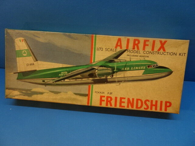1 72  AIRFIX (1959)   Turbo Prop. Friendship F-27     Air-Lingus Airline