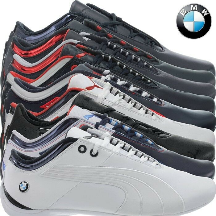 Puma BMW MS Future Cat M1 2 men's sneakers bluee or white trainers casual shoes