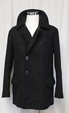 J Crew Tall Dock Peacoat With Thinsulate Wool Charcoal Large Tall NWT 05535 $318