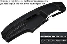 WHITE STITCH DASH DASHBOARD LEATHER SKIN COVER FITS BMW 6 SERIES E24 82-87